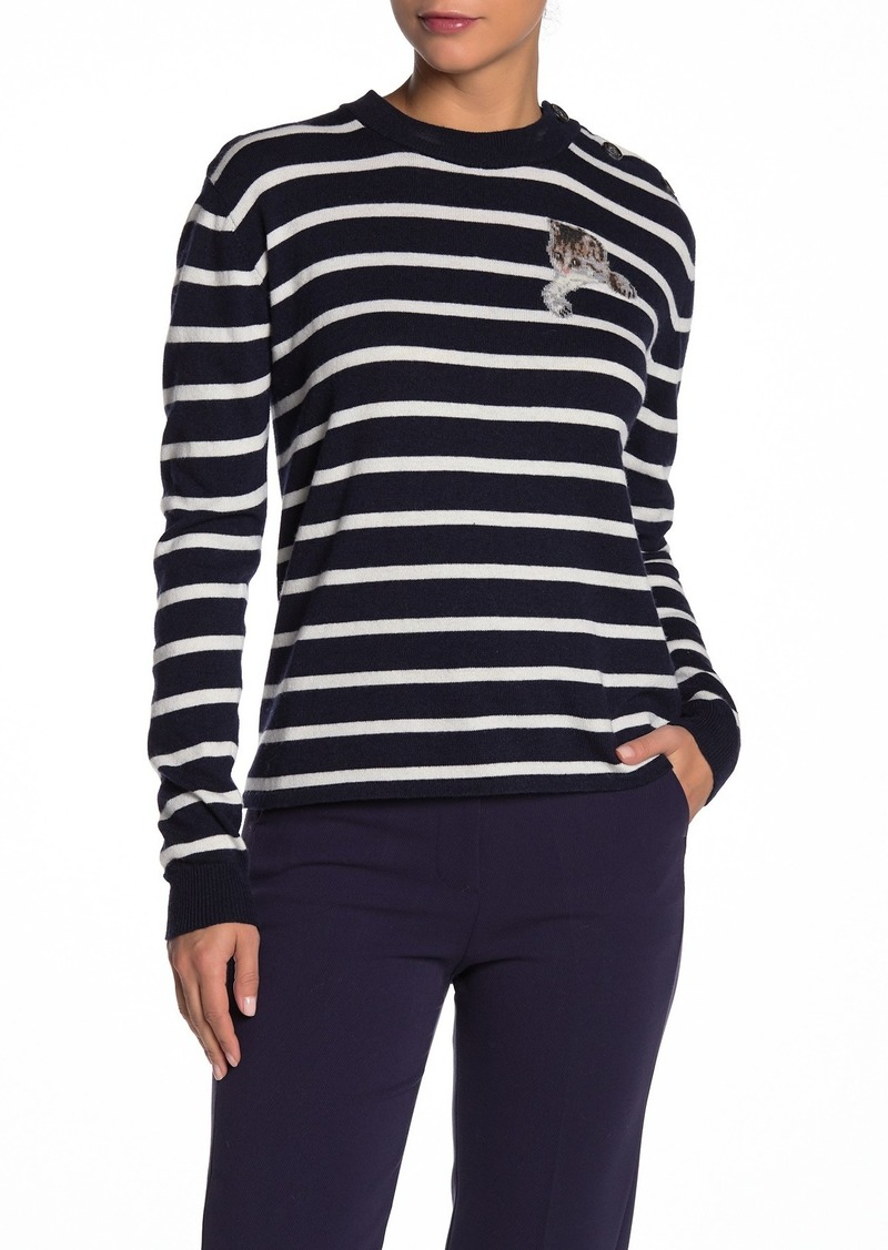 Paul & Joe Stripe Cat Pullover