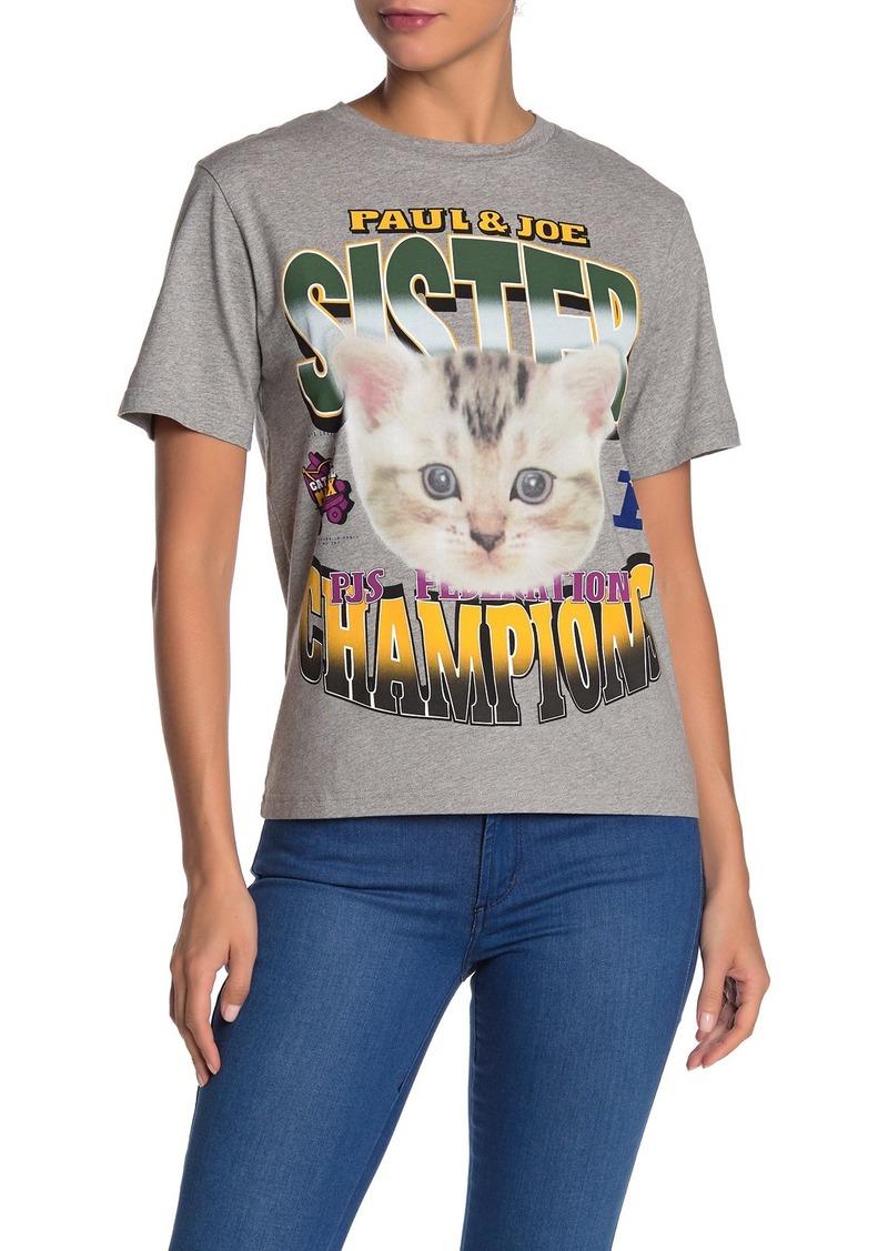 Paul & Joe Winner Cat T-Shirt
