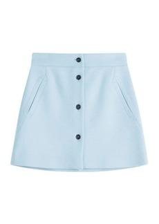 Paul & Joe Wool Mini Skirt