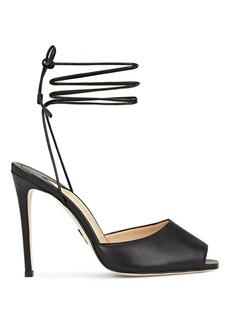 Paul Andrew Women's Look At Me Leather Ankle Strap Sandals