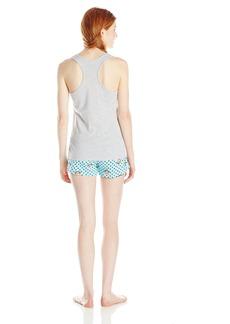 Paul Frank Women's Dotted Short Pajama Set
