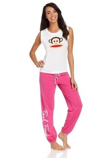 Paul Frank Women's Just Julius Knit Terry Pajama Set