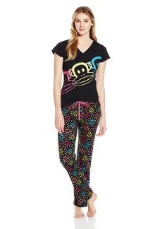 Paul Frank Women's Pops Of Fun Pajama Set