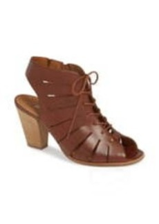Paul Green Cosmo Leather Lace-Up Sandal