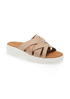 Paul Green Claudette Platform Wedge Slide Sandal (Women)