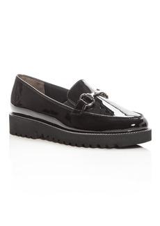 Paul Green Women's Nandi Patent Leather Platform Loafers