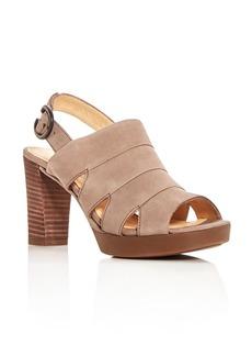 Paul Green Women's Reba Suede High-Heel Platform Sandals
