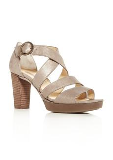 Paul Green Women's Riveriera Crisscross High-Heel Platform Sandals