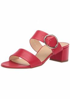 Paul Green Women's Trento Heeled Sandal Red SOFTNUBUK