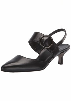 Paul Green Women's Viola Pump Black SOFTNUBUK  M US