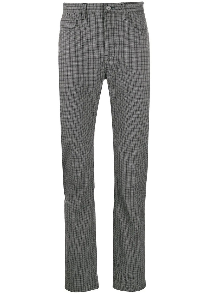 Paul Smith check print trousers