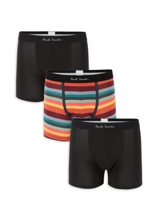 Paul Smith 3-Pack Long-Cut Briefs