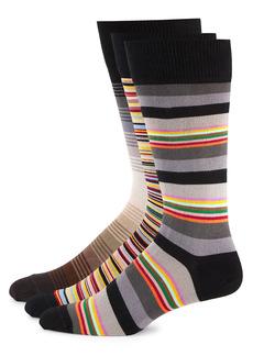 Paul Smith 3-Pack Striped Socks