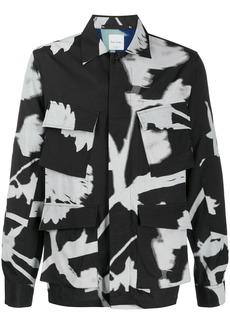Paul Smith abstract-print long-sleeved shirt