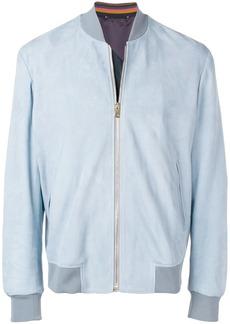 Paul Smith Artist Stripe cuff lined bomber jacket