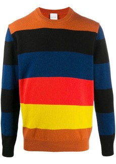 Paul Smith Artist Stripe-pattern wool jumper