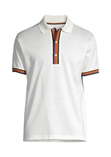 Paul Smith Artist Stripe Pique Polo Shirt