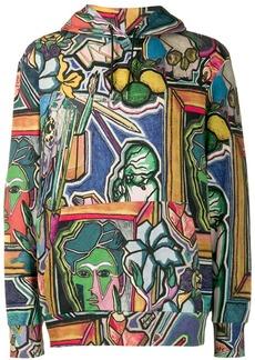 Paul Smith 'Artist Studio' print hoodie