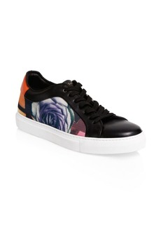 Paul Smith Basso Rose Leather Sneakers