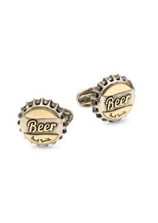 Paul Smith Beer Bottle Top Cufflinks