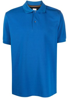 Paul Smith beetle buttoned polo shirt