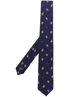 Paul Smith beetle pattern silk tie