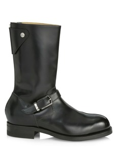 Paul Smith Bethnal Mid Calf Leather Boots