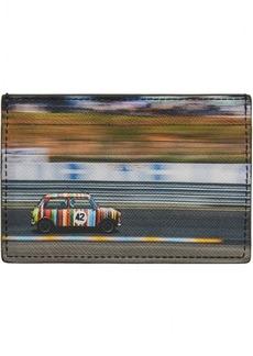 Paul Smith Black & Multicolor Mini Print Card Holder