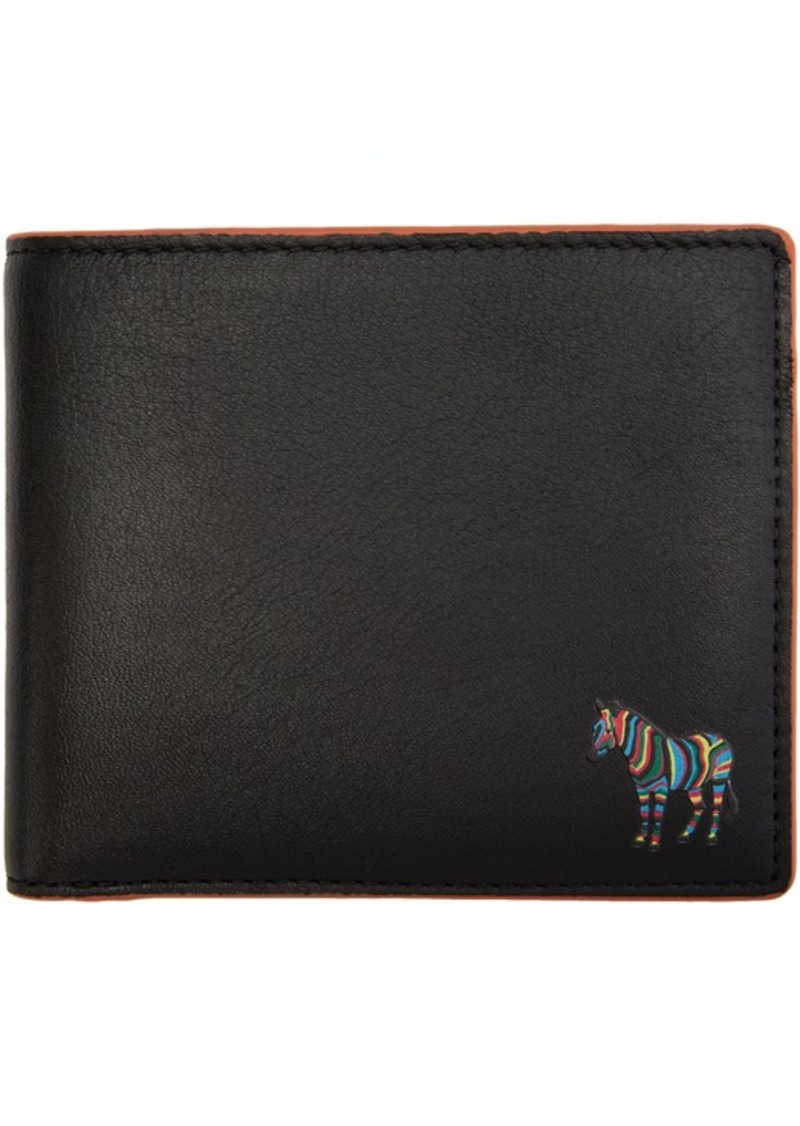 Paul Smith Black & Orange Zebra Wallet