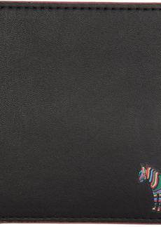 Paul Smith Black & Purple Zebra Bifold Wallet