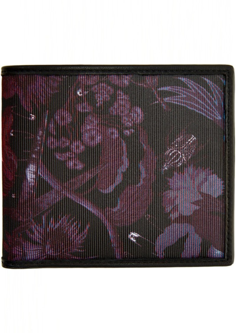 Paul Smith Black Beetle Botanical Wallet