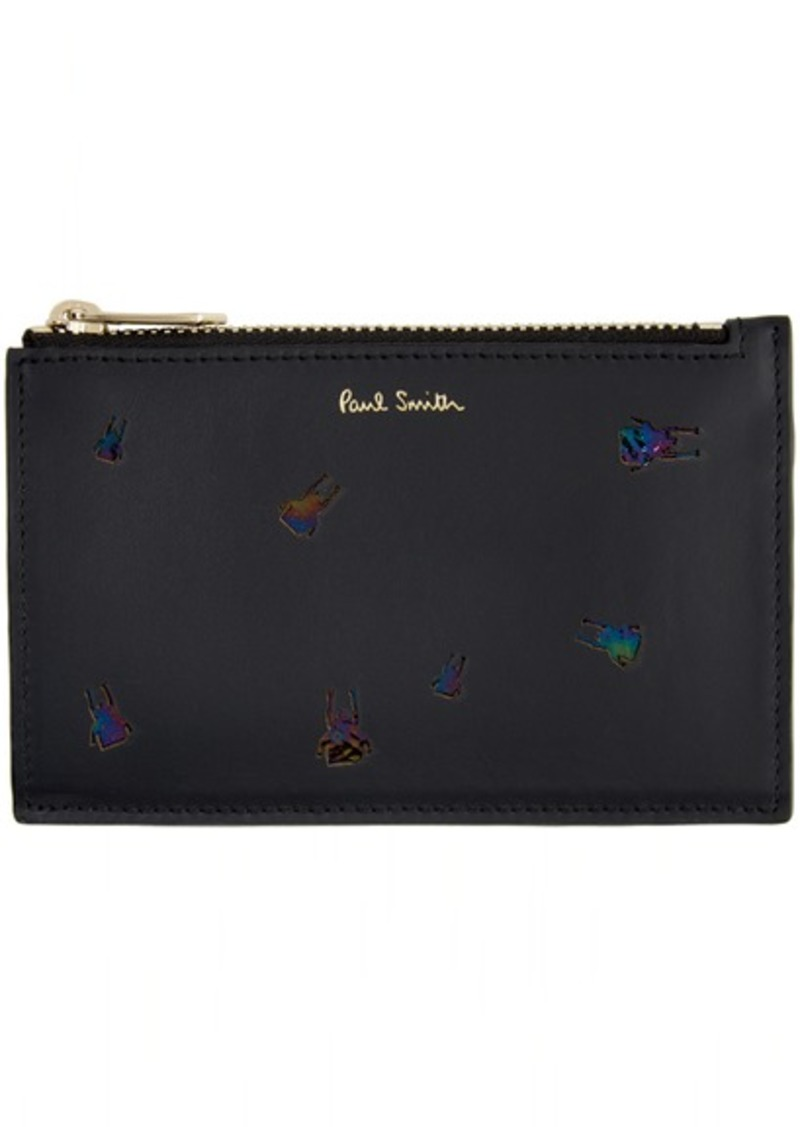 Paul Smith Black Beetle Card Holder