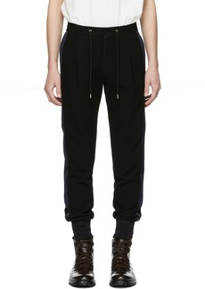 Paul Smith Black Casual Drawstring Lounge Pants