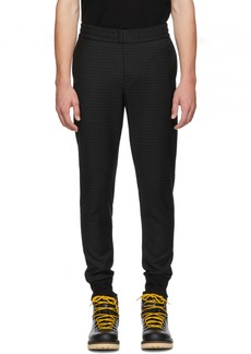 Paul Smith Black Check Drawcord Trousers