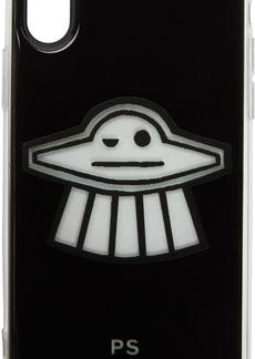 Paul Smith Black Clip UFO iPhone X Case