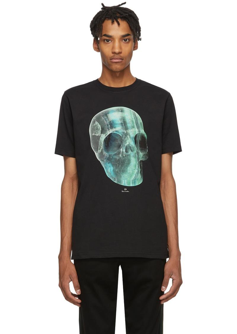 Paul Smith Black Crystal Skull T-Shirt