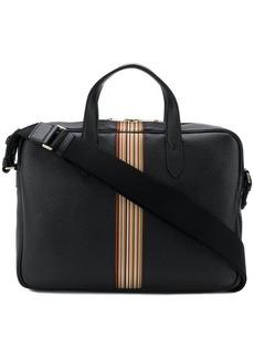 Paul Smith black leather laptop bag