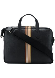 Paul Smith black leather laptop bag