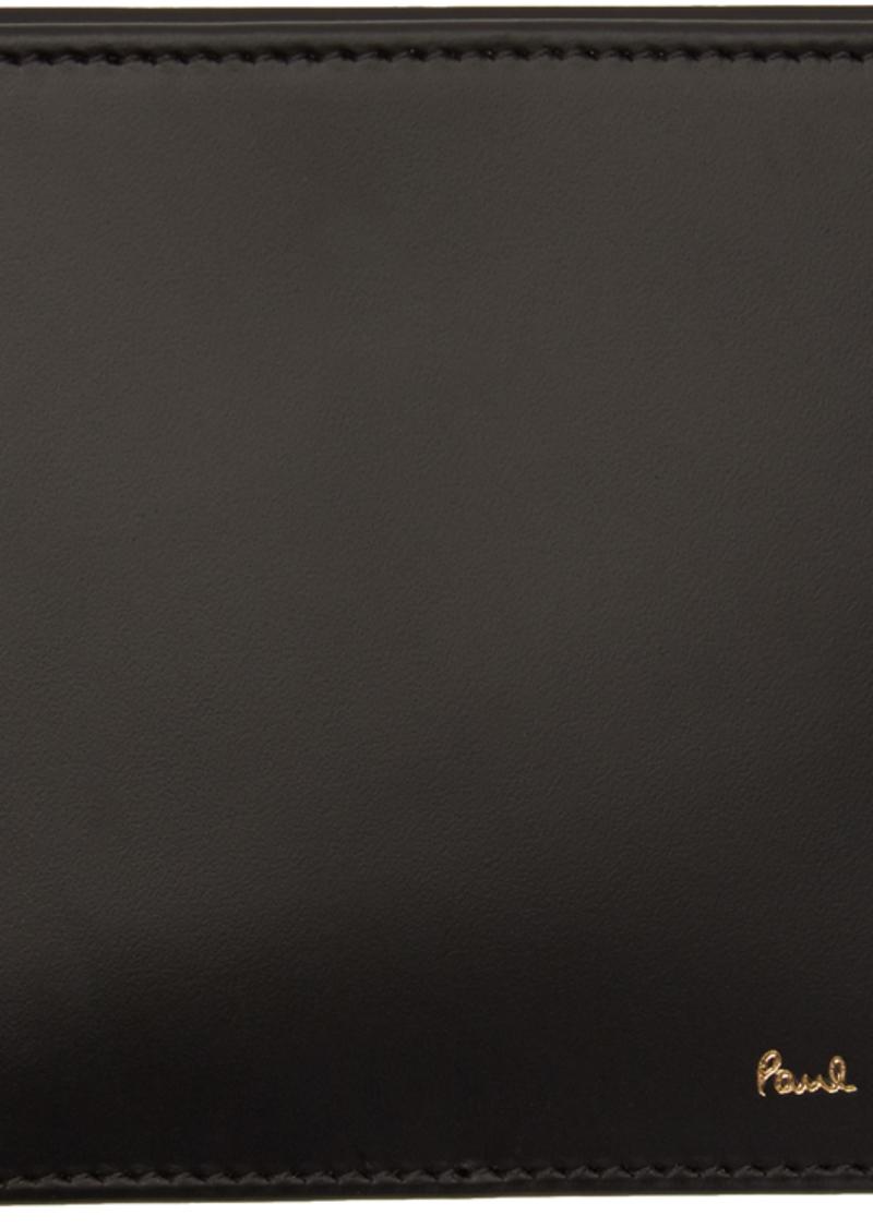 Paul Smith Black Multi Stripe Card Holder