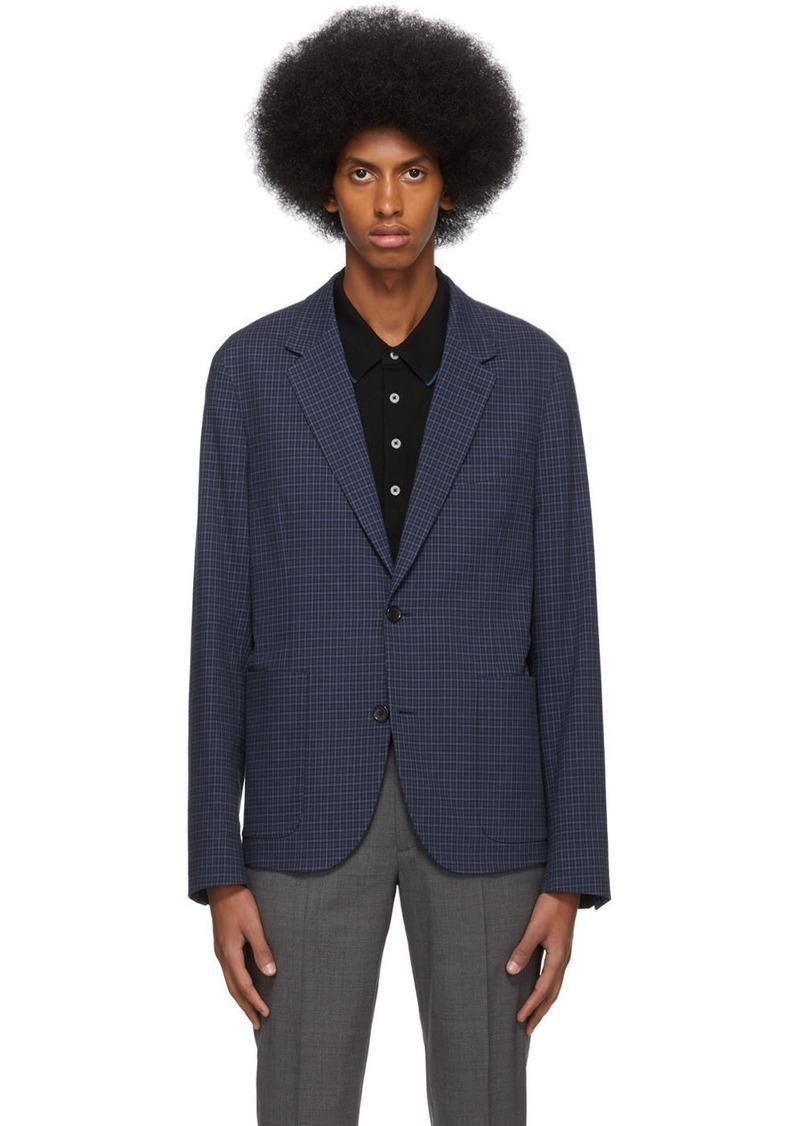 Paul Smith Blue Check Jacket