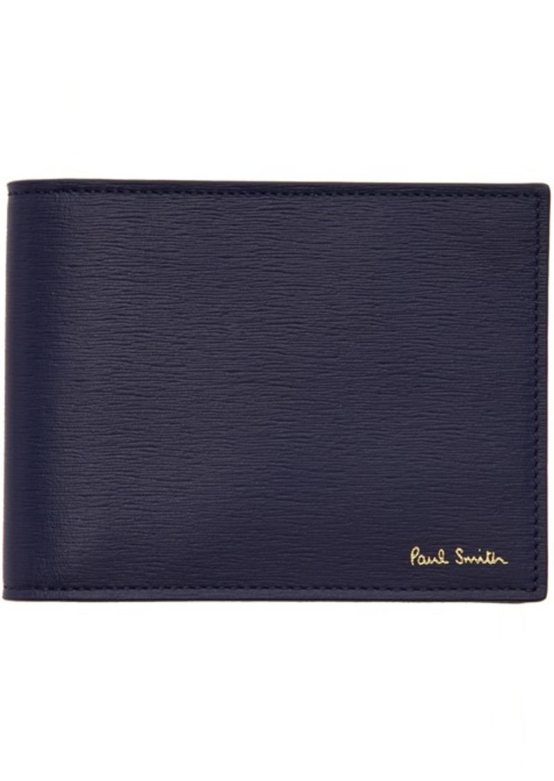 Paul Smith Blue Money Clip Wallet