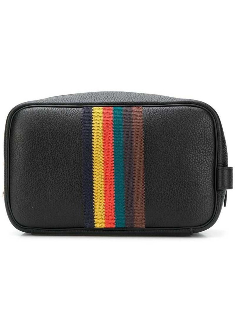 Paul Smith 'Bright Stripe' wash bag