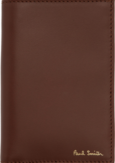 Paul Smith Brown Credit Card Wallet