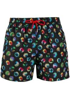 Paul Smith bubble print beach shorts