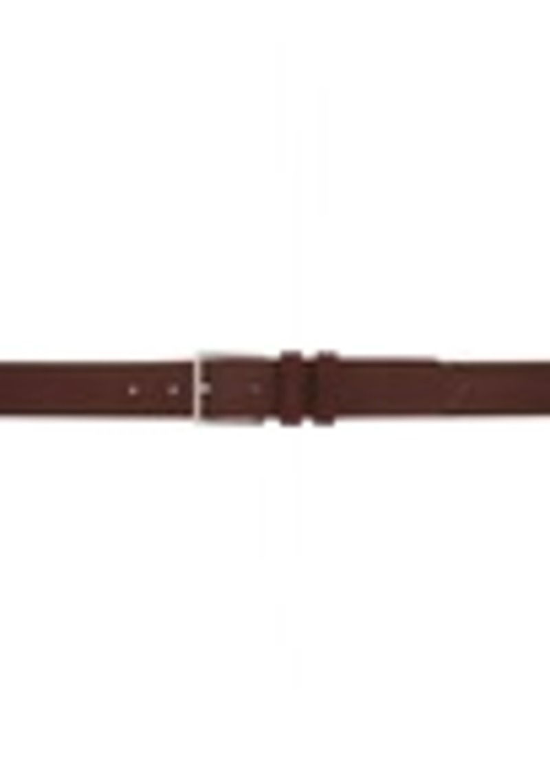 Paul Smith Burgundy Nubuck Belt