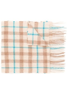 Paul Smith cashmere check scarf