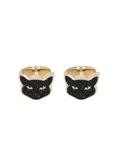 Paul Smith cat face cufflinks