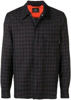 Paul Smith check pattern shirt jacket
