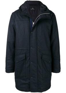 Paul Smith checked padded coat