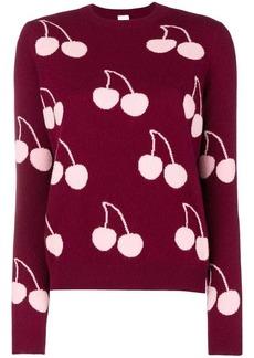 Paul Smith cherry pattern sweater